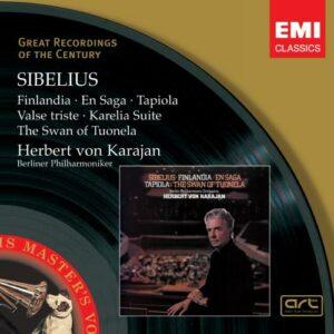 Sibelius: Popular Tone Poems - Herbert Von Karajan