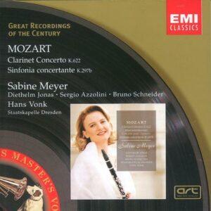 Mozart: Clarinet Concerto In A Major A - Sabine Meyer