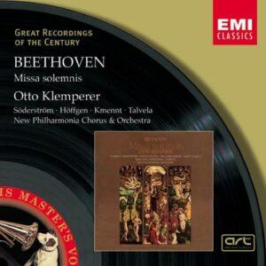 Beethoven: Missa Solemnis - Otto Klemperer