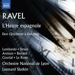 Maurice Ravel: L'Heure Espagnole - Orchestre National De Lyon / Slatkin