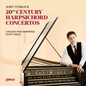 20th Century Harpsichord Concertos - Jory Vinikour