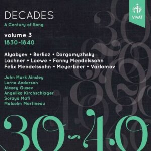 Decades: A Century Of Song Vol. 3 1830-1840 - Angelika Kirchschlager