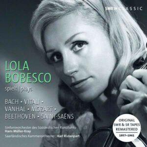 Recordings 1957-1961 - Lola Bobesco