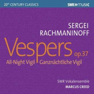 Rachmaninov: Vespers Op. 37 - Marcus Creed