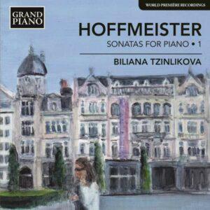 Anton Hoffmeister: Sonatas For Piano Vol 1 - Tzinlikova