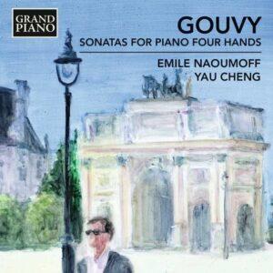Louis Theodore Gouvy: Sonatas For Piano Four Hands - Naoumoff