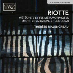Andre Riotte: Meteorite Et Ses Metamorphoses - Malengreau