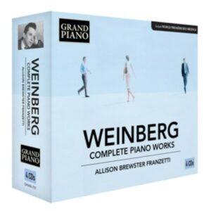 Mieczyslaw Weinberg: Complete Piano Works - Brewster-Franzetti