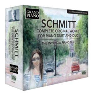 Florent Schmitt: Complete Original Works For Piano - The Invencia Piano Duo