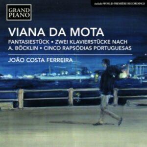 Jose Viana Da Mota: Piano Works - Joao Costa Ferreira