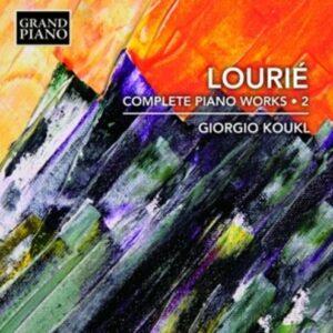 Arthur Vincent Lourie: Complete Piano Works Vol.2 - Giorgio Koukl