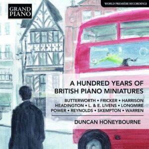 A Hundred Years Of British Piano Music - Duncan Honeybourne