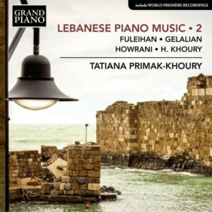 Lebanese Piano Music Vol.2 - Tatiana Primak-Khoury