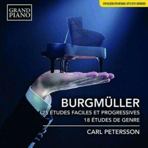 Friedrich Burgmüller: 25 Etudes Faciles Et Progressives Op.100 - Carl Petersson