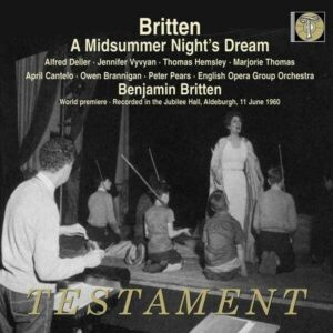 Britten: Midsummer Night's Dream - Alfred Deller