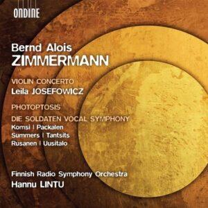 Bernd Alois Zimmermann: Violin Concerto - Leila Josefowicz )