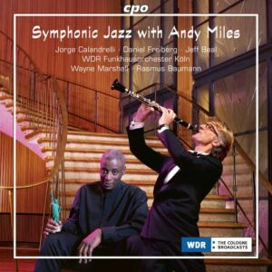 Symphonic Jazz with Andy Miles. Marshall, Baumann.