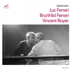 Ferrari, Meyer-Ferrari, Royer : Ephémère, compositions contemporaines pour alto. Royer.
