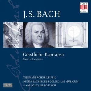 Johann Sebastian Bach: Geistliche Kantaten - Thomanerchor Leipzig / Rotzsch