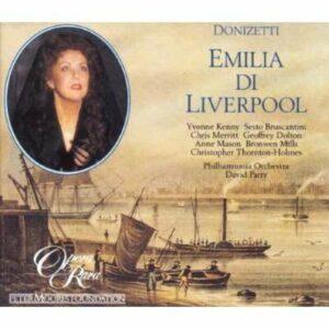 Gaetano Donizetti: Emilia Di Liverpool - Philharmonia Orchestra / Parry