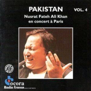 Pakistan Vol.4: en concert à Paris - Nusrat Fateh Ali Khan