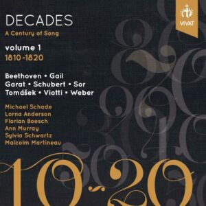 Decades - A Century of songs vol 1 1810-1820
