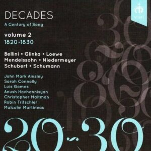 Decades, A Century Of Song Vol. 2 - Malcolm Martineau