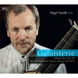 Weiss: Galanterie - Music For Lute Vol. 3 - North