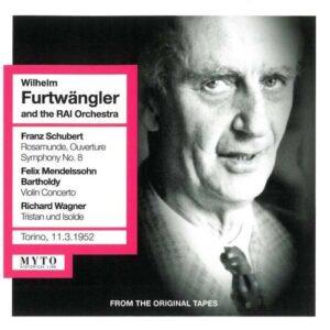 Furtwangler Conducts Schubert, Mendelssohn, Wagner
