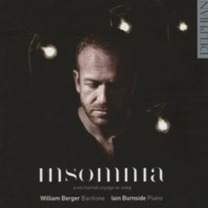 Insomnia  A Nocturnal Voyage In Song - Berger
