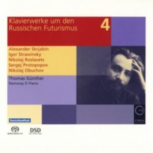 Piano Works From Russian Futurism Vol.4 - Thomas Gunther