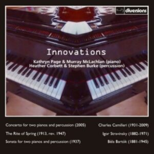 Innovations, Music For Two Pianos - Murray McLachlan
