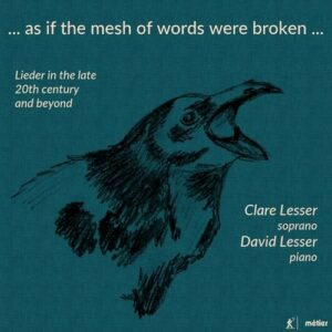 ... as if the mesh of words were broken … - Clare Lesser