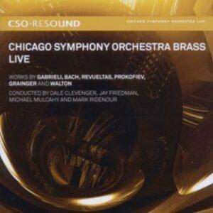 Revueltas, Bach, Prokofiev Gabrieli: Live - Chicago Symphony Orchestra Brass / Friedman