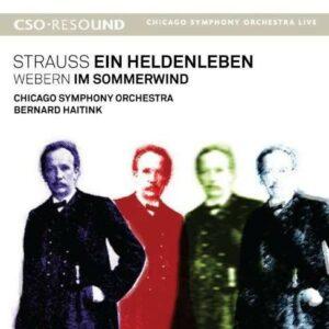 Webern Strauss: Ein Heldenleben,  Im Sommerwind - Bernard Haitink