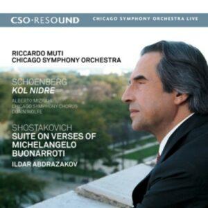 Schoenberg / Shostakovich: Kol Nidre, Suite On Verses Of Michelangelo - Ricardo Muti