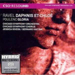 Poulenc Ravel: Daphnis Et Chloe,  Gloria - Bernard Haitink