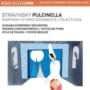 I. Stravinsky: Pulcinella,  Symphony In Three Movements - Pierre Boulez
