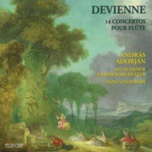 Francois Devienne: 14 Flute Concertos - Andras Adorjan