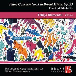 Tchaikovski : Concerto pour piano n° 1. Blumental, Gielen. [Vinyle]