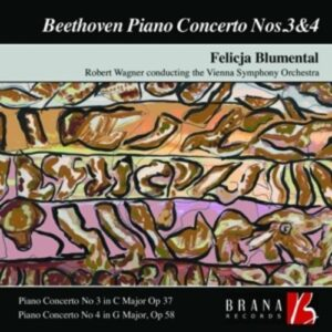 Beethoven: Piano Concertos Nos.3 & 4 - Vienna Symphony Orchestra / Wagner