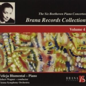 Beethoven: Brana Records Collection, Vol.4 - Vienna Symphony Orchestra / Wagner