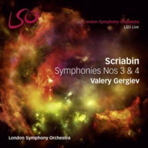 Scriabin: Symphonies Nos 3 & 4 - London Symphony Orchestra / Valery Gergiev