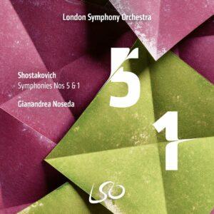 Shostakovich: Symphonies Nos. 5 & 1 - London Symphony Orchestra