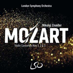 Mozart: Violin Concertos Nos. 1 2 & 3 - Nikolaj Znaider