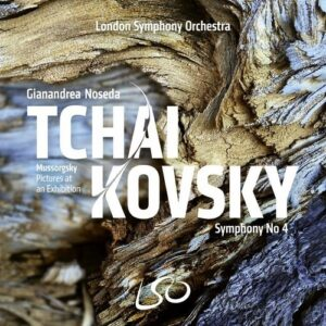 Tchaikovsky: Symphony No. 4 / Mussorgsky: Pictures at an Exhibition - Gianandrea Noseda
