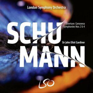 Schumann: Symphonies Nos 2 & 4, Genoveva Overture - John Eliot Gardiner