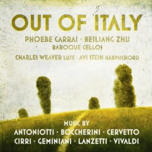 Out Of Italy - Phoebe Carrai