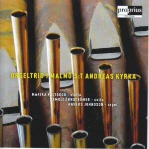 Orgeltrio I Malmö S:T Andreas Kyrka - Anders Johnsson
