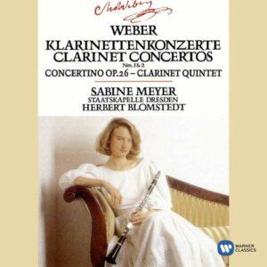 Weber: Clarinet Concertos 1 & 2 - Sabine Meyer